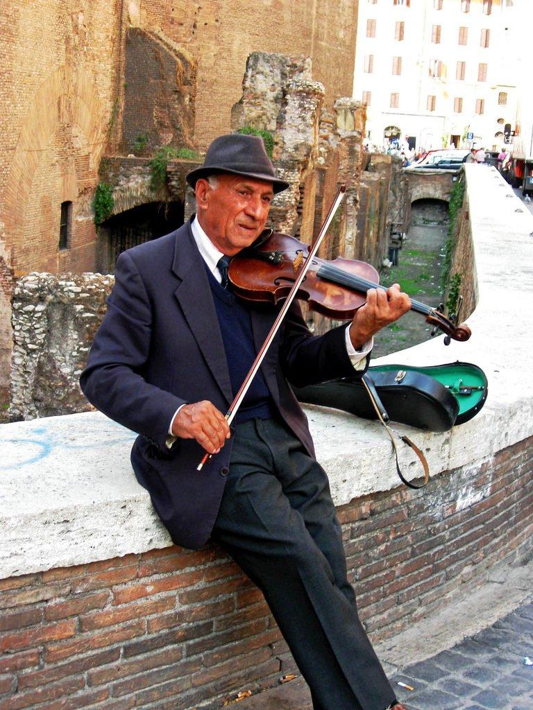 papy violon