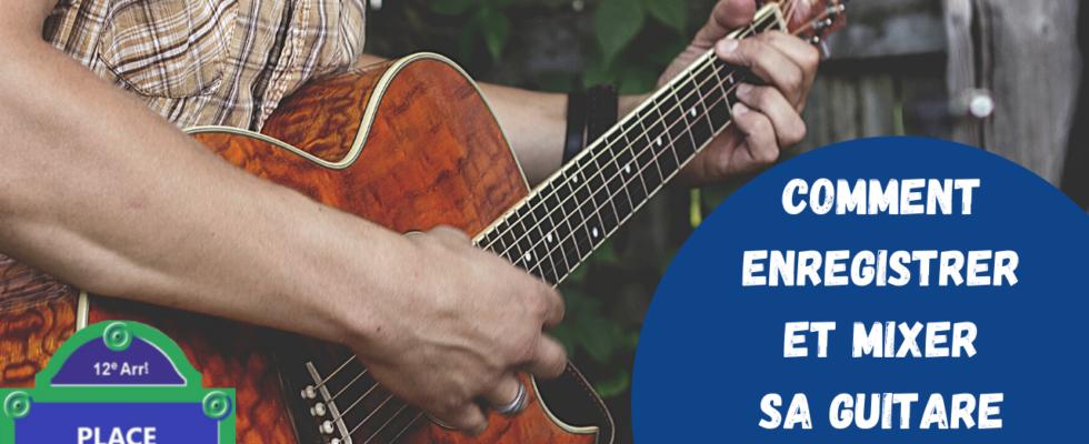 Enregister une guitare acoustique