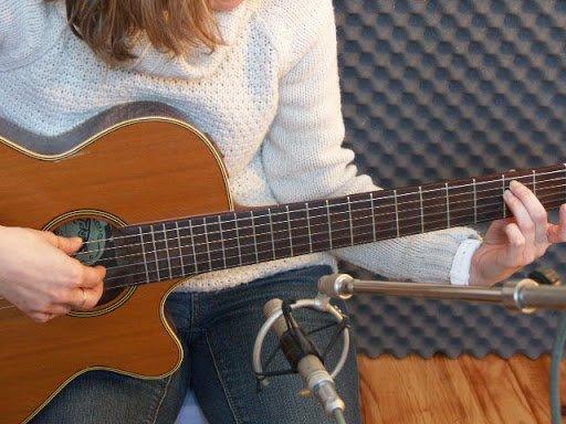 enregistrer une guitare acoustique