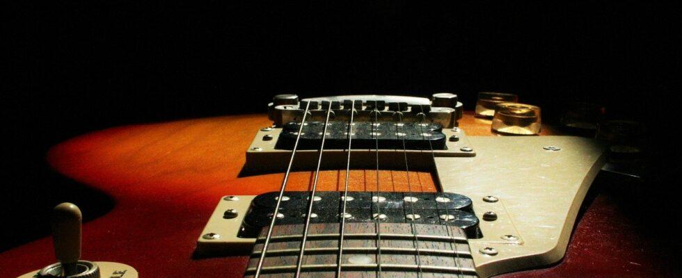 réglage guitare électrique