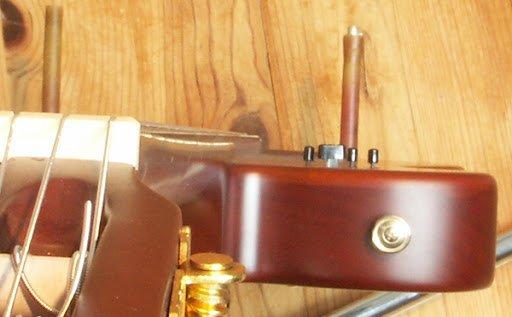 manche guitare concave